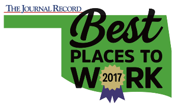 The Journal Record Best Places to Work 2017 logo