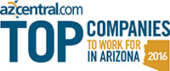 azcentral dot com top companies to work for in arizona 2016 banner