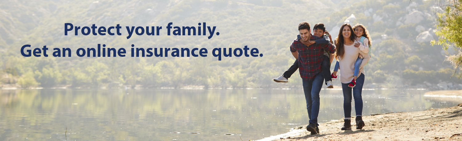 Protect Your Family. Online Insurance Quote.